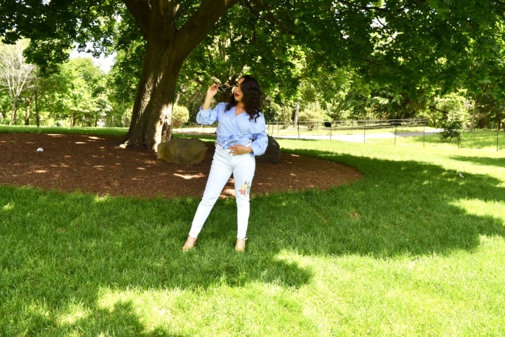 Salsa Dancing in My WhiteJeans