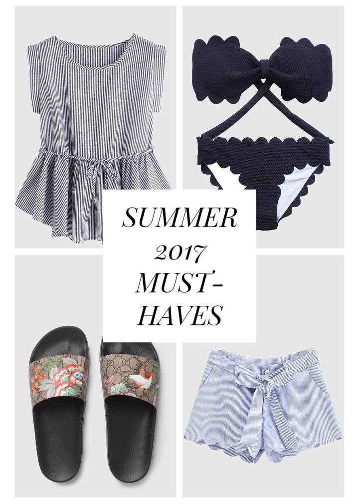 Summer 2017 Must-Haves